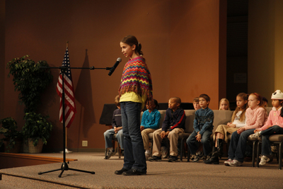 Homeschool Student Performing